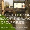 I vini Rosarubra a Talgarth e al Vinarius di Londra!