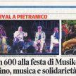 In 600 alla festa di Musikè: vino, musica e solidarietà