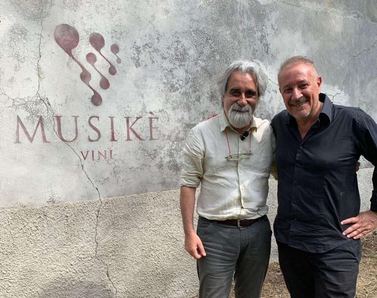 Peppe Vessicchio e Riccardo Iacobone
